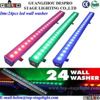 Quality 24pcs RGB High Power LED wall light outdoor 3in 1 for sale