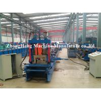 Metal Structure C Channel Roll Forming Machine For Shaft Bearing Steel 24 m / min for sale