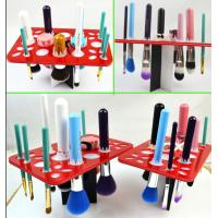 Quality Simple Acrylic Makeup Storage , Puff Eye Shadow Pen Cosmetic Display Stands for sale