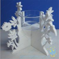 Quality CH (20) decorative candle holder tall Acrylic candle holder for sale