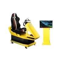 Quality Manual Operation VR Race car simulator Different Maps High Resolution VR Headset for sale
