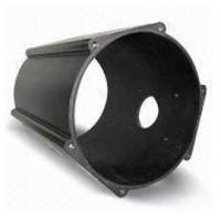 Quality Anodized , Drawbench Industrial Aluminium Profile Cylinder Shell With CNC Machining for sale