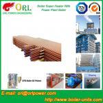 Quality Boiler Unit CFB Boiler Superheater Platen Superheater High Heating Efficiency for sale