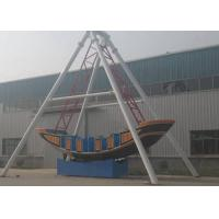 Corrosion Resistence Pirate Ship Amusement Ride Gorgeous Color For Life Square