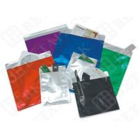Buy Black / White Custom Print Business Envelopes Aluminum Foil Pouches at wholesale prices