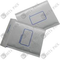 Quality White Self Sealer Hot Melt Glue Bubble Padded Mailer With 1c Printed for sale