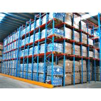 China Commercial Metal Racking System , Heavy Duty Drive In Pallet Racking on sale