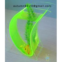 Quality Wonderful acrylic wall mount fish bowl for sale