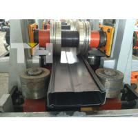Quality Storage rack warehouse rack box beam upright roll forming machine for sale