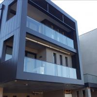 Buy cheap frameless glass railing, u channel railing for outdoor balcony from wholesalers