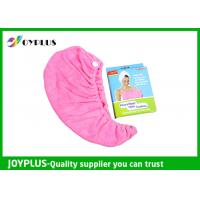Quality Various Colors Hair Drying Towel Wrap , Quick Dry Hair Towels 250GSMg for sale