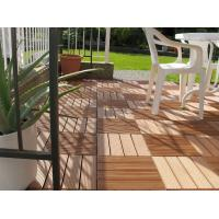Quality anti-scratch and moistureproof recycled outside wpc DIY decking tiles310*310*25mm (RMD-D9) for sale