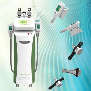 China 2015 latest 5 handles Cryo / RF /cavitation best slimming cryo+lipo laser machine on sale