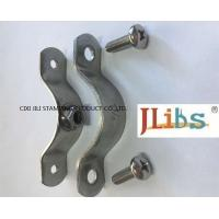 No Rubber Coated Cast Iron Pipe Clamps With Stainless Steel 304 Material