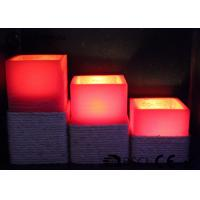 Quality Warm White Electric Led Candles Set Of 3 Paraffin Material EL-016 for sale
