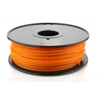 Quality Gold 3D Printer PLA Filament 3mm For 3D Printers , 4.4lb / Spool for sale