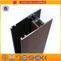 Quality Wood Grain Aluminium extrusion Profiles For House Decoration GB5237.4-2008 for sale