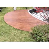 Quality Non Skid Bamboo Outdoor Wood Tile , Outdoor Deck Flooring With Multilayer for sale