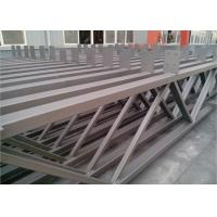 Q235b Light Square Tubing Trusses , Grey Metal Structural Beams For Surport for sale