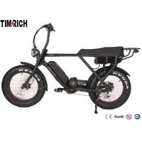 Quality TM-BGL-ATV08  Mid Drive Electric Battery Powered Bike 48V 15AH Battery Charge Time 4-6 Hours for sale