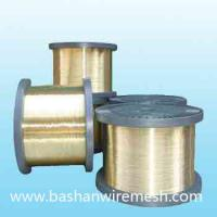 Quality xinxiang bashan 0.25mm edm brass wire for sale