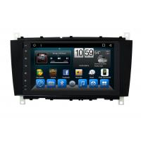 Quality Android Mercedes Benz C - Class Double Din Car Dvd Player GPS Navigation Head Unit for sale