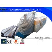 China 1 mm Gr12 Cable Tray Roll Forming Machine , Cold Rolled Steel on sale
