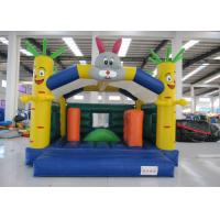 Quality Outdoor Rabit Kids Inflatable Bounce House 5 X 4m Double Stitching In Public for sale