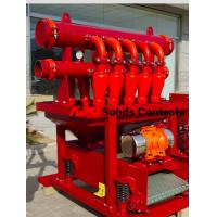Quality High efficiency solids control D-silter separator used in well drilling for sale for sale