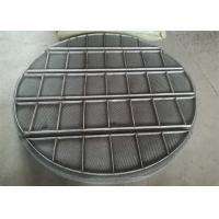 Quality Stainless Steel Mesh Sheet / Mist Eliminators Mesh Pads Alloy Material for sale