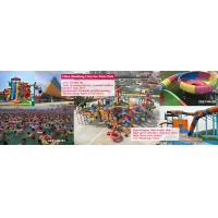 China ShanDong crazy sea water world, biggest with100,000 m2, opend in 2015, red business for sale
