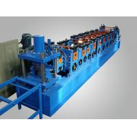 China Galvanized Steel L Racking Roll Forming Machine 220V 60HZ Three Phase on sale