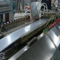 Quality Stable Performance Plastic Extrusion Machinery For Decorative Profiles Plastic Extrusion Lines for sale