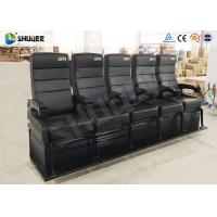 Quality Touching Heartbeat Entertainment 4D Cinema Theater With Electronic Seats for sale