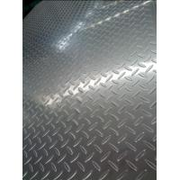 Quality 304 Cold Rolled And Hot rolled Tear Drop Stainless Steel Chequered Plate For Skid Resistance for sale
