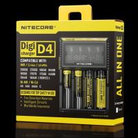 China Nitecore D4 LCD intelligent battery charger for IMR/Li-ion/Ni-MH/Hi-Cd and LiFePO4 rechargeable batteries on sale