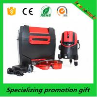 Quality Red / black ABS case Self leveling Laser Level 650nm / 635nm 5m±1mm for sale