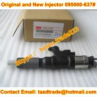 Quality DENSO Original and new CR  Injector 095000-6376 / 095000-637# / 8-97609789-# Fit ISUZU for sale
