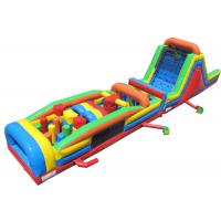 Quality Plato PVC Material Inflatable Obstacle Courses Beautiful And Long Durability for sale
