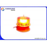 Quality Aging Resistance LED Flashing Lights / Aviation Red Light High Efficiency for sale