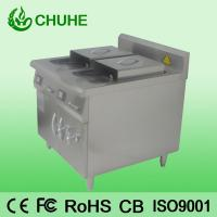 Quality Counter restaruant 2 tank 4 basket deep fryer with 8kw for sale
