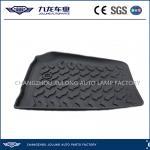 Quality Floor Mat Set for Jeep Wrangler-4x4 Off Road Floor Liners-Wrangler Foot Pad,Black for sale