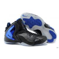 Buy cheap Nike Lil Penny Posite Black Grey Blue New Arrivaled from wholesalers