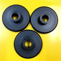 Quality Black Nylon 66 Plastic Machined Parts CNC Turning Simple Design Lightweight for sale