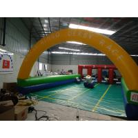 Quality Popular Amusement Park Pony Hop Games Inflatable Sports Games For Kids And Adults for sale