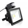 30W PIR LED flood light,COB motion sensor light for sale