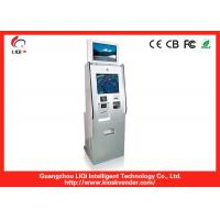 Quality Hotel Stand Self Service Payment Terminal Durability With Touch Screen for sale
