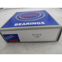 Quality High Precision Brass Cage Thrust Ball Bearing , Car Thrust Bearing 51316 51317 for sale