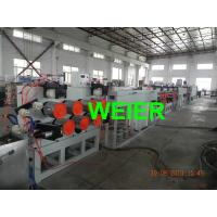 Quality 200 kg/h Plastic PET Strapping Band Machine With Single Screw / Double Screw for sale