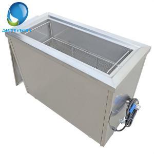 China 100 Liter Tube Filter 40khz Ultrasonic Pipe Cleaner Oil Rust Removing / Degreasing on sale